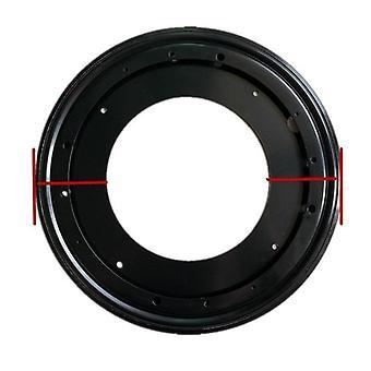 Placa giratoria giratoria giratoria de rodamientos de servicio pesado