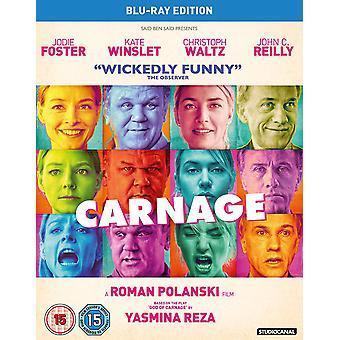 Carnage Blu-ray