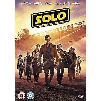 Solo: Eine Star Wars Story DVD