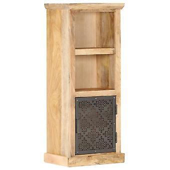 Hoher Schrank mit Tür 45X32X110 Cm Massive Mango Holz