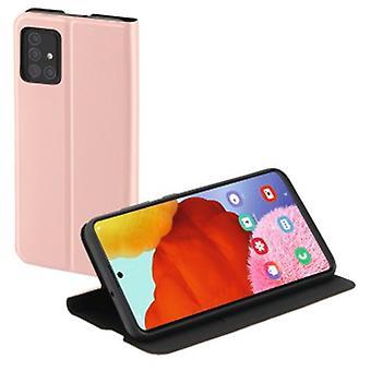 """Hama """"Single2.0 Folleto para Samsung Galaxy A51, rosa"""
