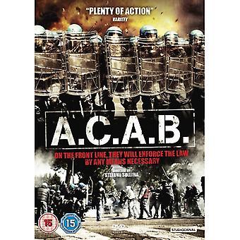 A.C.A.B. DVD