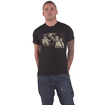 Pink Floyd T Shirt Sepia Cravats new Official Mens Black