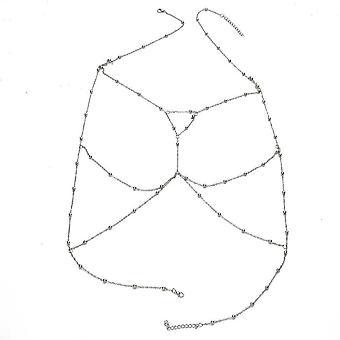 Body Chain Cross Beads Jewelry For Women