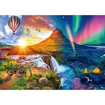 Schmidt Lars Stweart Island Night & Day Jigsaw Puzzle (1000 Pieces)