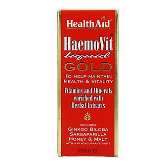 HealthAid HaemoVit Liquid Gold 200ml (803135)