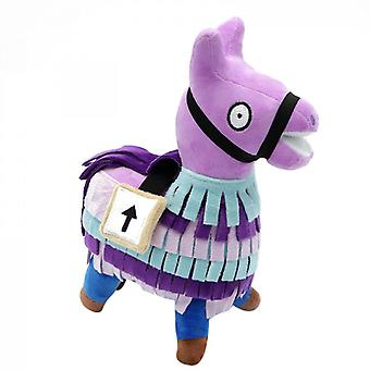 Llama Loot Plys Purple Horse Game Player Office Doll
