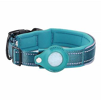Nylon Dog Positioning Collar Suitable Airtag Tracker Protective Cover