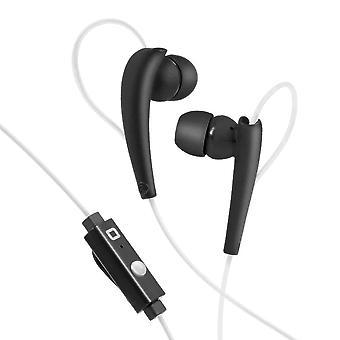 Bluetooth-headset med mikrofon SBS TESPORTINEARKL VitSvart