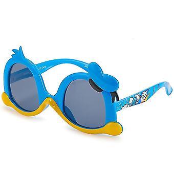Okuliare detské okuliare UV protection chlapec a dievča Donald duck roztomilé kreslené slnečné okuliare (farba-2) darček #640