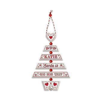 Storia & Araldica Decorazione dell'albero di Natale - Katie 269800480 Legno Fatto a mano