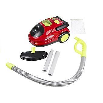 Spielzeugstaubsauger mit Sound - Rot und Schwarz - 25cm