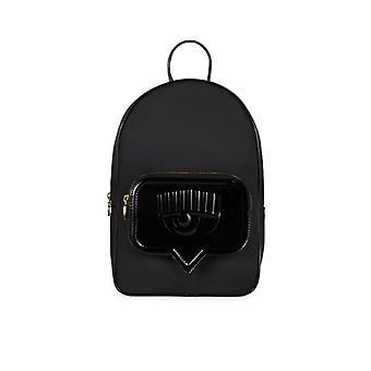 Chiara Ferragni Eyelike Black Backpack