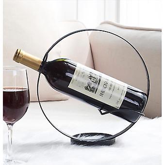 Wijnrek decoratie huishouden ronde wijn rack display rack lichte luxe creatieve wijnrek