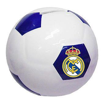 Money box Real Madrid C.F. Ceramica Bianca