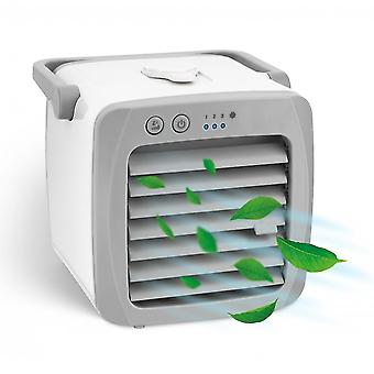 Qian Mini Air Conditioning Fan Air Cooler Portable Conditioner Humidifier Purifier Room Cooling