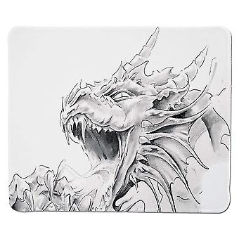 Mouse pads 300x250x3 yanteng gaming mouse pad dragon sketch of a medieval spiritual character mythological