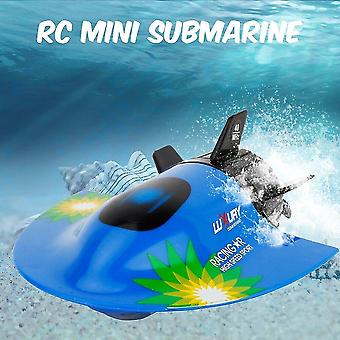 Remote control boats watercraft mini rc submarine create toys rc toy blue