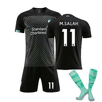 Mohamed Salah Psg Jersey, Liverpool F.c. Salah-11-second Away T-shirt Jersey(adult Clothing)