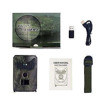 Pr100c 12mp 1080p 120 Nachtsicht Jagd Kamera Ip56 Wasserdichte Wildtierfalle Trail Scouting Kamera für Haussicherheit und Wildtierüberwachung