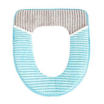 Bathroom Protector Closestool Soft Warmer All Shape Toilet Cover Seat Lid Pad Bu