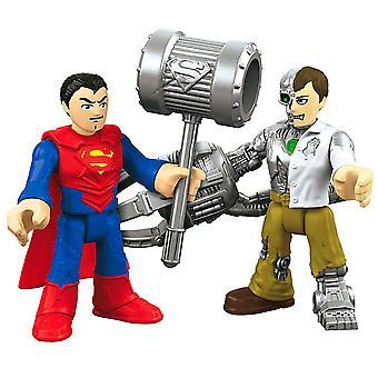 Super Friends Imaginext DC figuur Superman en Metallo