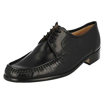 Mens Grenson Lace Up Moccasin Shoes Crewe