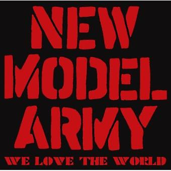 New Model Army - We Love the World [CD] USA import
