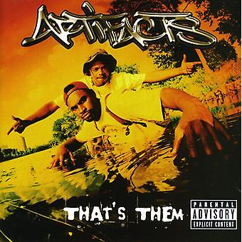 Artifacts - That's Them [CD] USA import