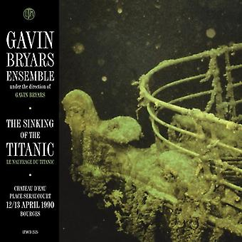 Gavin Bryars - The Sinking of the Titanic: Bourges 12/13.4.1990 [CD] USA import
