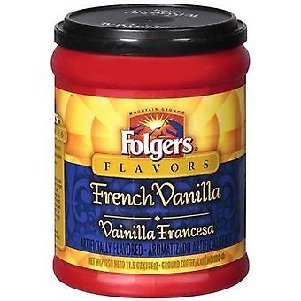 Folgers arome franceză vanilie teren de cafea