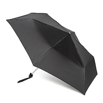 New FULTON Mini-Flat 1 Umbrella Black