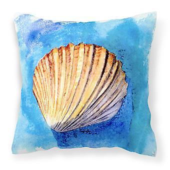 Carolines Treasures  8009PW1414 Shells Decorative   Canvas Fabric Pillow