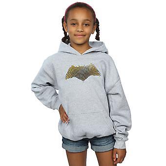 DC Comics Girls Justice League Movie Batman Logo Textured Hoodie