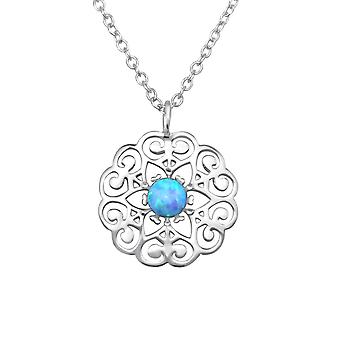 Bloem - 925 Sterling Zilver Jewelled kettingen - W31397X