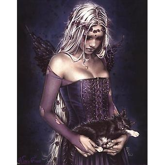 Angel Of Death Poster Poster Print by Victoria Frances