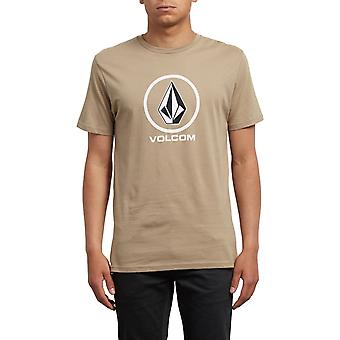 Volcom Crisp kortärmad T-shirt i sand Brown