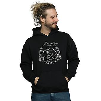 Harry Potter Men's Ravenclaw Seal Hoodie