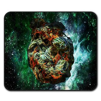 Smelly Weed Bud Rasta  Non-Slip Mouse Mat Pad 24cm x 20cm | Wellcoda