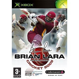 Brian Lara International Cricket 2005 (Xbox) - Nouveau