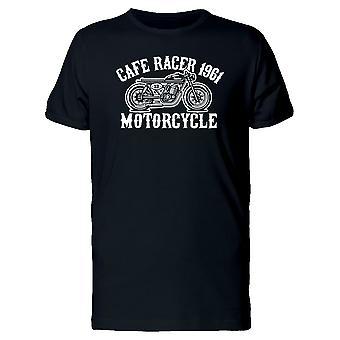 カフェ レーサー バイク 1961 t シャツ メンズ-シャッターによる画像