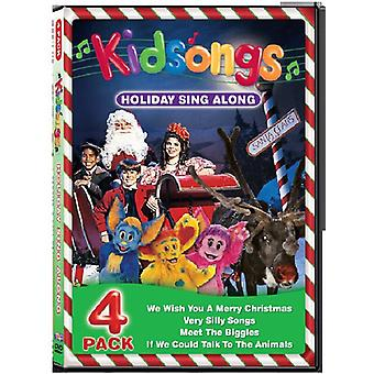 Kidsongs - Holiday Sing Along [DVD] USA import