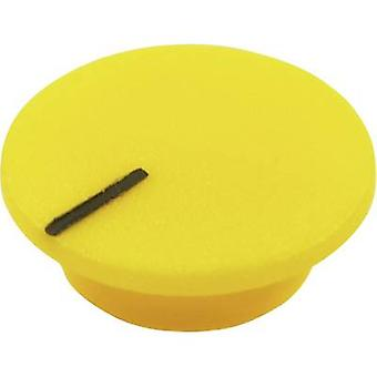 Cliff CL1772 Cover + hand Yellow Suitable for K21 rotary knob 1 pc(s)