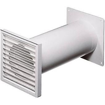 Wallair N37824 cilindro tubulação sistema de ventilação 100 plástico (Ø x L) 10 cm x 48 cm branco