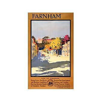 Farnham (oude spoor Ad.) Fridge Magnet