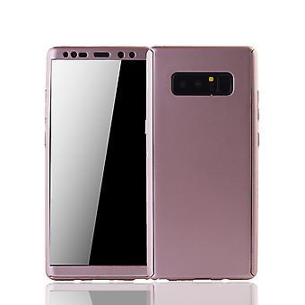 Samsung Galaxy touch 8 Mobile Shell Schutzcase fuld dækning 360 display beskyttelse folie steg