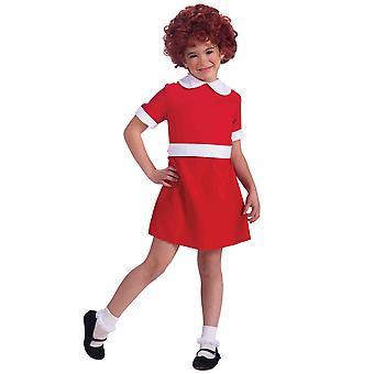 Das Broadway-Musical Annie Kostüm etwas verwaisten Dance Drama Buch Woche Mädchen