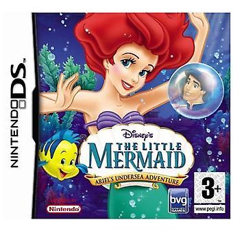 Disneys den lille Havfrue Ariels undersøiske eventyr (Nintendo DS)-fabriks forseglet