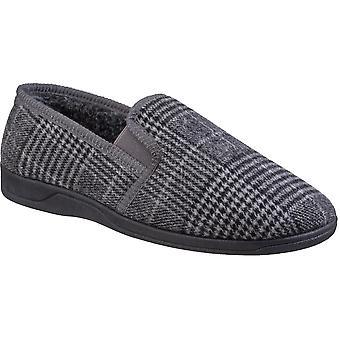 Fleet & Foster Mens Minnesota Slip On Loafer Slippers