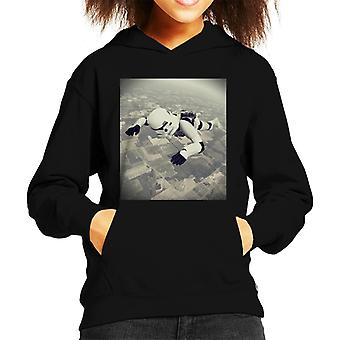 Original Stormtrooper Skydiving Kid's Hooded Sweatshirt
